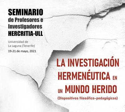 Seminario de Profesores e Investigadores HERCRITIA - ULL